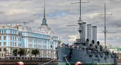 Крейсер Аврора. Достопримечательности Санкт-Петербурга (доклад для 2 класса)