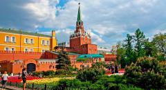 Достопримечательности Москвы. Александровский сад