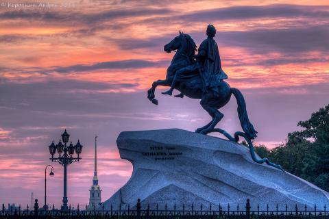 Медный всадник - достопримечательность Санкт-Петербурга (доклад для 2 класса)